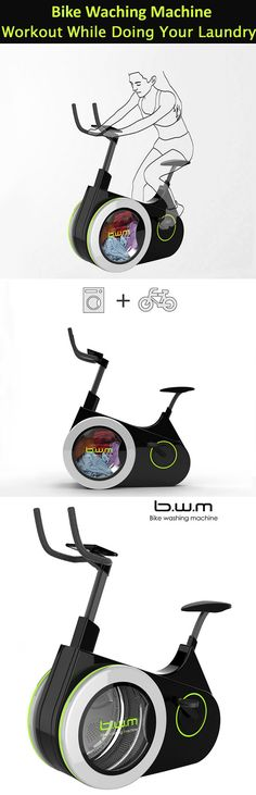 """Bike washing machine is combination of fascinating technology and unlimited creativity.As described in the site: Tuvie.""""Bike Washing Machine combines a stationary bicycle and washing machine, you can exercise while at the same time simultaneously washing your clothes,"""" in another words, #workout while doing your #laundry, that's how you kill two birds with one stone."""