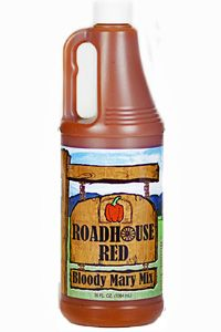 Roadhouse Red Bloody Mary mix - made in Grafton, MA.  Tried some today and oh, my is it delicious!