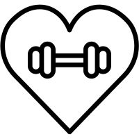 health icon Gym free vector icon designed by Smashicons Vector Icons, Vector Free, Gym Icon, Black And White Instagram, Health Icon, Fitness Icon, Black And White Heart, Sport Icon, Fitness Tattoos