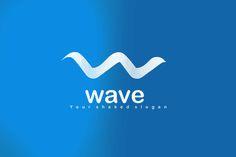 Wave Logo Design - Brannet Market Multimedia Technology, Waves Logo, Professional Logo Design, Best Logo Design, Coreldraw, Cool Logo, Say Hi, Business Logo, High Quality Images