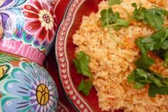 This recipe makes for the best Mexican rice I've ever tasted. It is bursting flavor, much better than what you get at most Mexican restaurants.  Just a couple of tips: *Broth is best when homemade: Just throw a chicken breast with skin and bone into a quart or so of water, and boil for 30 minutes. (You can shred the chicken and use it for tacos or tortilla soup.) *Avoid sautéing the garlic and onion first, or they will burn in the time it takes the toast the rice.