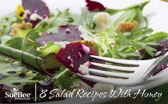 8 Salad Recipes With Honey