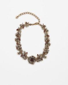 Image 1 of GEM STYLE CHOKER from Zara