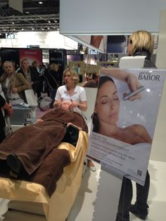 BABOR Treatment at Beauty Dûsseldorf 2014 #babor #baborspa #beautydusseldorf2014 #baborsverige