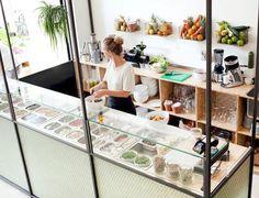 SLA Amsterdam Salad Bar Interior Design