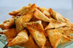Also called Fillo Pastry or Phyllo Pastry Filo pastry, also called fillo pastry or phyllo pastry is a paper-thin translucent pastry used in Greek, Eastern European and Middle Eastern recipes. It's ideal for making savoury parcels, greek style chee Phyllo Recipes, Pita Recipes, Pastry Recipes, Greek Recipes, Appetizer Recipes, Whole Food Recipes, Snack Recipes, Meatless Recipes, Snacks