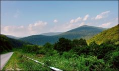Traveling the Scenic Highway - Pocahontas County, West Virginia