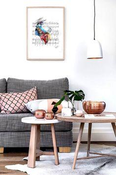 Metropolitan Copper Studio-Style Sitting Room