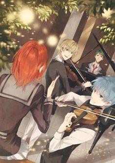 La Corda d'Oro #illustration #anime #manga