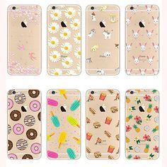 Padrao-de-borracha-macia-de-TPU-e-silicone-Voltar-Capa-para-Apple-iPhone-5-6-6s-Plus-SE