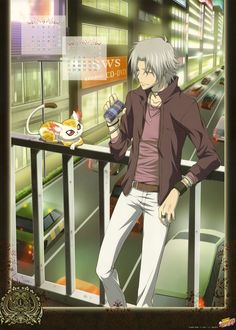 Gokudera- one of my all time favorite ever characters.