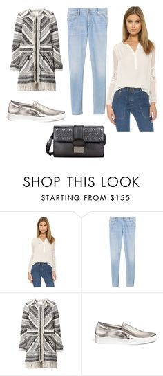 """Sin título #2991"" by ceciliaamuedo ❤ liked on Polyvore featuring Rebecca Taylor, Michael Kors and RED Valentino"