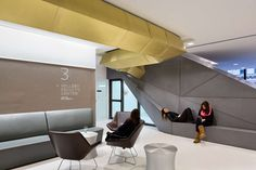 Skidmore, Owings and Merrill LLP - Project - The New School University Center New School University, University Center, Office Images, Office Pictures, Design Hotel, Commercial Design, Commercial Interiors, Focal Point Lighting, Solid Oak Desk