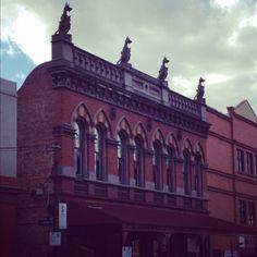 Beautiful Victorian building in Carlton, Melbourne