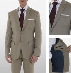 The Classic Khaki Suit