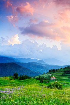 Village of Stoikite, Smolyan, Bulgaria