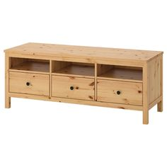 Solid wood has a natural feel. Open compartments for your DVD player, etc. Drawer Rails, Drawer Fronts, Hemnes Tv Bank, Ikea Tv Bank, Solid Pine, Solid Wood, Tv Banco, Ikea Mobile, Large Drawers