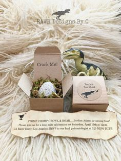 Dinosaur Invitations - Dinosaur Birthday - Dinosaur Party - Jurassic World Party - Jurassic Park Party - Dinosaur Eggs - Dinosaur Dig by RAWRdesignsByC on Etsy https://www.etsy.com/listing/478464967/dinosaur-invitations-dinosaur-birthday