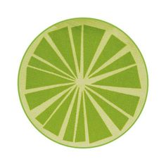 Citrus Rug Ø80 Lime, 17€, now featured on Fab.