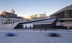 Espace Culturel Georges-Émile Lapalme, Place Des Arts | Menkès Shooner Dagenais Letourneux Architectes - Arch2O.com