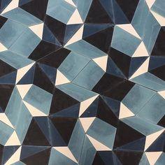 Introducing SPLINTER ::: hand made cement tiles @pophamdesign #pophamdesign #marrakech #showroom #cementtiles #handmadetiles #interiordesign #popham #sementfliser #contemporary #modern #design #norway #pophamdesignnorway Photo © pophamdesign.com popham design showroom norway: www.pophamdesign.no