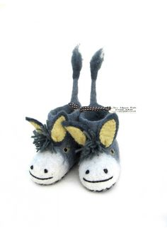 Slippers / Darci Donkey - BABY BOY - Products : Fawn Shoppe - Global Boutique For Unique Children's Designs