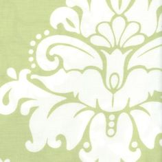 Serena & Lily Sprout Damask Fabric