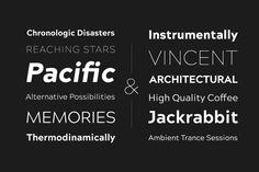 Acherus Grotesque Typefamily 75% Off by Horizon Type on @creativemarket