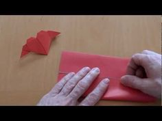 How do i fold a heart with wings? Origami tutorial