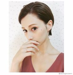 Short Pixie, Pixie Cut, Cut And Style, Cut And Color, Hair Inspo, Hair Inspiration, Japanese Beauty, American Women, Asian Girl