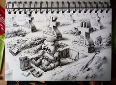 Sketchbook - PEZ Artwork