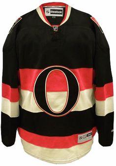 Ottawa Senators Official Third Reebok Premier Replica Adult NHL Hockey Jersey