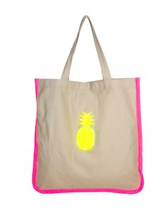 Cute! Koku Pineapple Tote: Stylish Beach Bags for Summer: Style: teenvogue.com