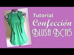 Blusa BC115 Sisa Americana Confección | EL BAÚL DE LAS COSTURERAS