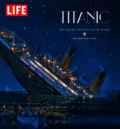 Titanic, LIFE Books, cover