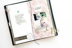 Blog: January 2018 Member Spotlight - Studio Calico Travel Journal Pages, Travel Journal Scrapbook, Scrapbook Cards, Travel Journals, Travelers Notebook, Diy Agenda, Journaling, Mixed Media Scrapbooking, Studio Calico