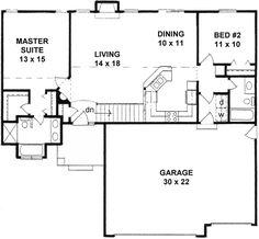 Plan # 1239 -American Design Gallery   ADG House Plans   Pinterest ...
