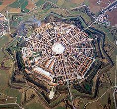 Palmanova, Italy - the nine-pointed star fortress