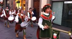 And before we left Lucca for Florence, a parade! Another amazing day.