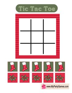 Today I have made this adorable Free Printable Tic Tac Toe Game for Christmas in 3 different designs. You can print these lovely game cards using your home Printable Christmas Games, Printable Board Games, Free Printable, Operation Christmas Child Labels, Gingerbread Man Coloring Page, Kids Labels, Christmas Preparation, Tic Tac Toe Game, Pine Cone Crafts