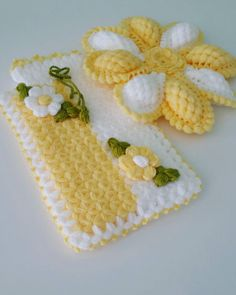 Dicas Verdes Banyo – home accessories Baby Afghan Crochet Patterns, Potholder Patterns, Crochet Flower Patterns, Crochet Motif, Crochet Doilies, Crochet Flowers, Free Crochet, Puff Stitch Crochet, Crochet Stitches