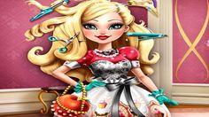 Em Apple White Penteados da Moda, Apple White está destinada a ser a próxima rainha de Ever After High e como toda rainha ela tem que ser bonita e estilosa. Para isso, ela precisa muito de sua ajuda. Ajude nossa amiga Apple White criar um penteado bonito e estilos. Ajude Apple White e faça um lindo penteado para ela ficar na moda e muito fashion. Divirta-se jogando com Ever After High!