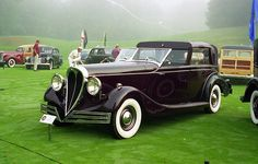 1940 Brewster-Buick Town Car.
