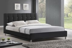 Wholesale Interiors Baxton Studio Vino Platform Bed & Reviews | Wayfair