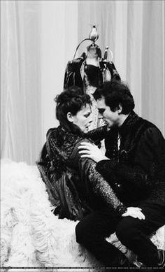 """Daniel Day-Lewis in a production of """"Hamlet"""""""