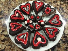 Healthy Sweetheart Brownies Wednesday, February 11, 2015