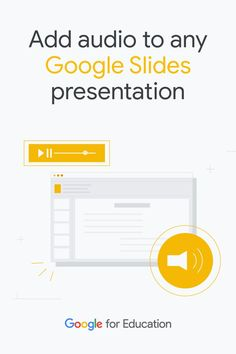 Inserting audio in #GoogleSlides is simple! Educators show how easy it is to do with an east to follow tutorial. #GSuiteEdu Promethean Board, Audio In, Teacher Hacks, Elementary Teacher, Google Classroom, Educational Technology, Lesson Plans, Presentation, Classroom Resources