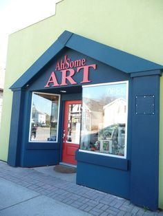 Ah Some Art! located in Point Edward, Ontario is filled with all kinds of things made in Canada and the US.