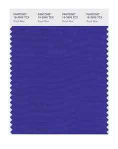 Pantone Smart Swatch 19-3955 Royal Blue