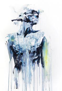 the triumph of things by Silvia Pelissero aka agnes-cecile on DeviantArt Art Sketches, Art Drawings, Modern Art, Contemporary Art, Agnes Cecile, Lesbian Art, Figurative Art, Dark Art, Painting Inspiration